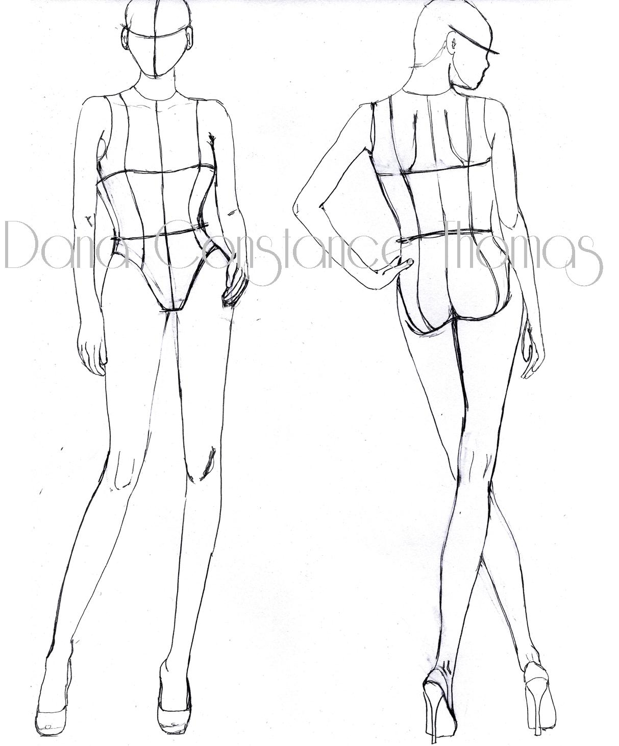 Croquis dctdesigns creative canvas page 2 posted in croquis tagged croquis drawing fashion illustration maxwellsz