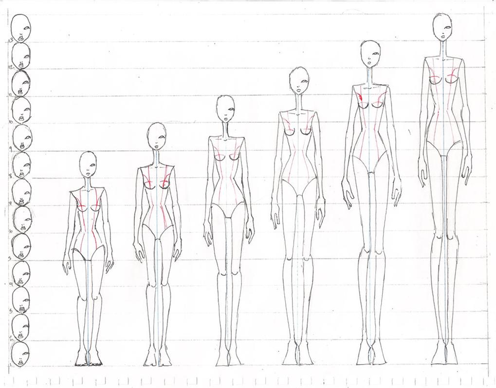 9 Head Figure Dctdesigns Creative Canvas