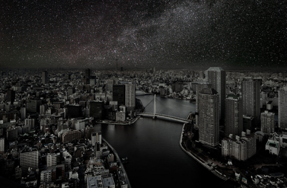 Starry-Night-Tokyo-Thierry-Cohen-via-Seventeenth-&-Irving