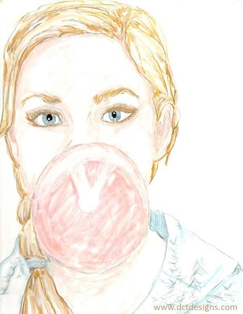 Bubble gum wweb