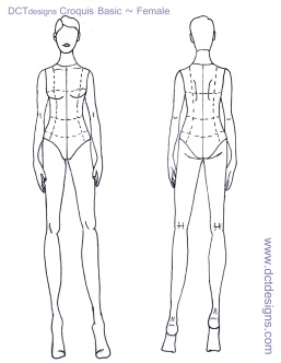 This will no doubt keep you busy over the weekend  See you next week    Female Croquis Templates