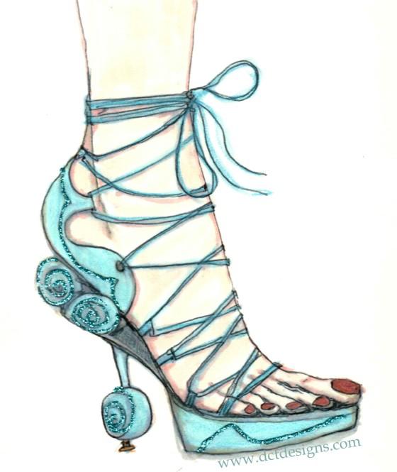 Dior Shoe wweb