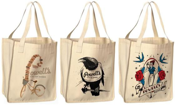 Powell's books bags