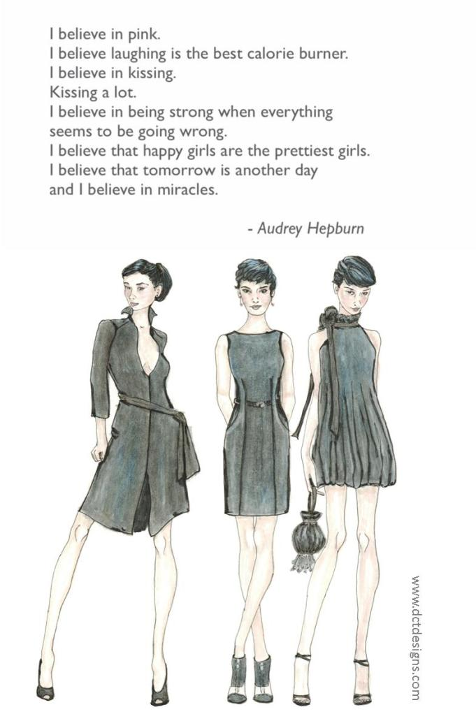 Monday Meditation ~ The Audreys