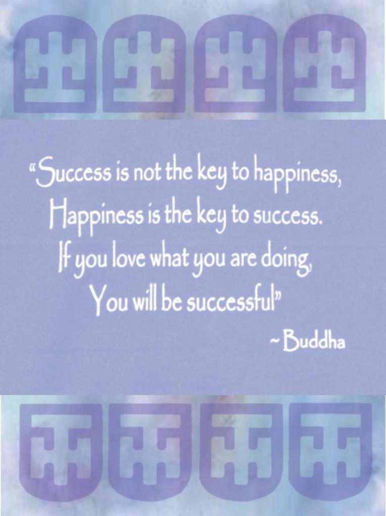 Monday Meditation ~ Key to Success