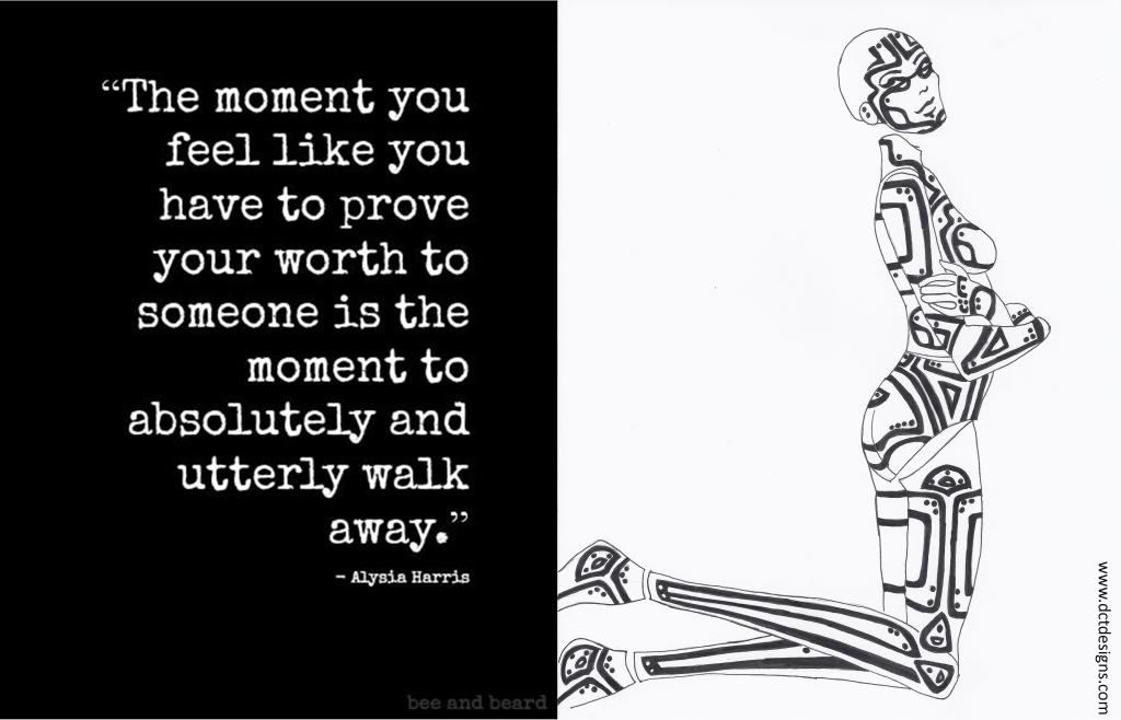 Monday Meditation ~ Walk Away