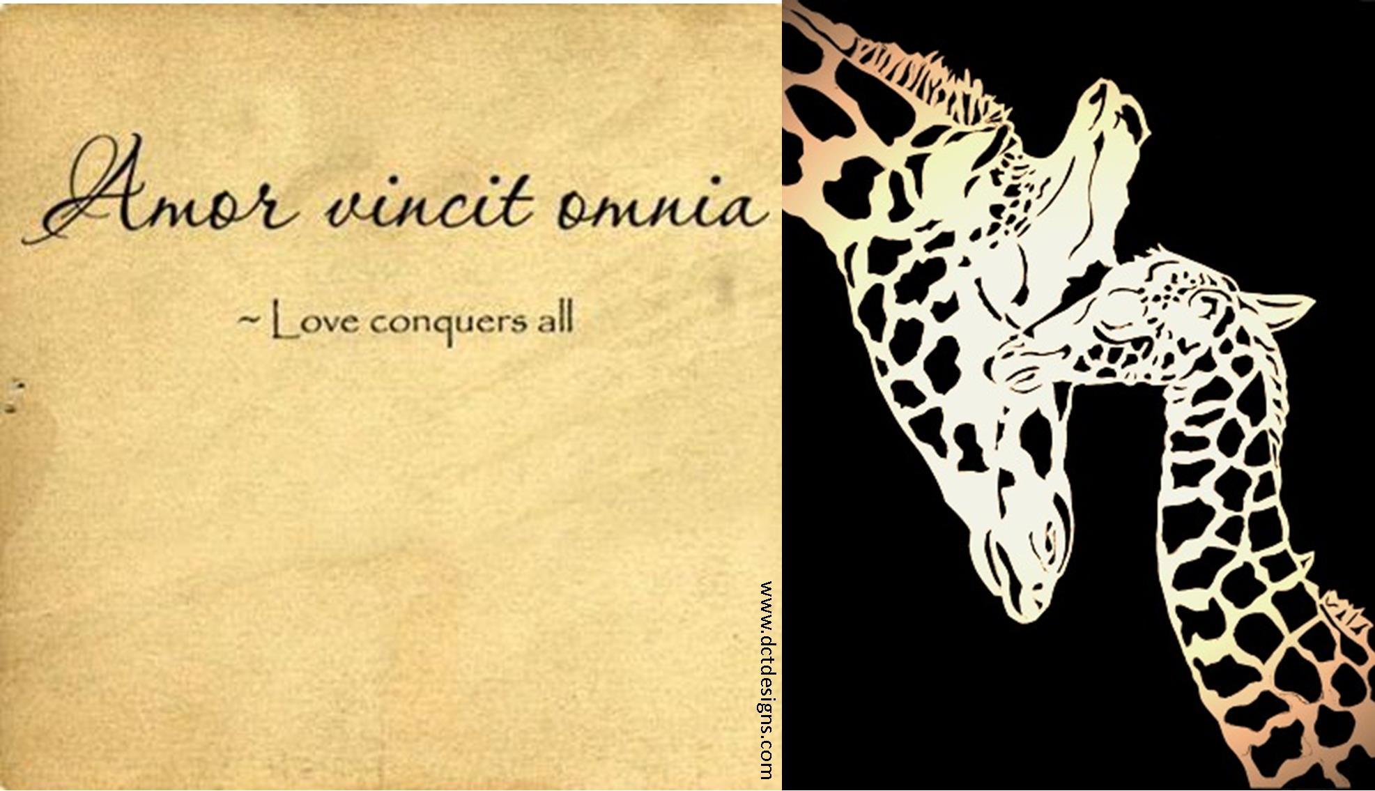 Monday Meditation ~ Love ConquersAll