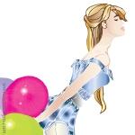 Thumbnail-girl with balloons