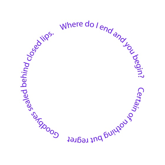 Full Circle Poem