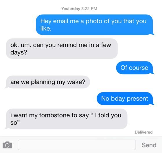 Text Conversation 1